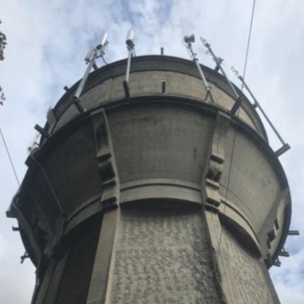 Water Tower Phone Mast